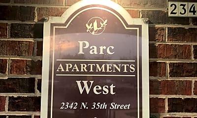 Parc West Apartments, 1