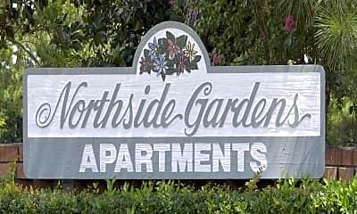 Community Signage, Northside Gardens Apartments, 2