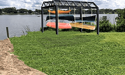 Community Signage, Lakeside Villas, 2