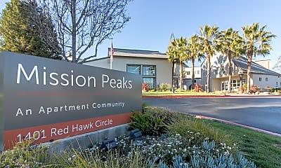 Community Signage, Mission Peaks I, 1