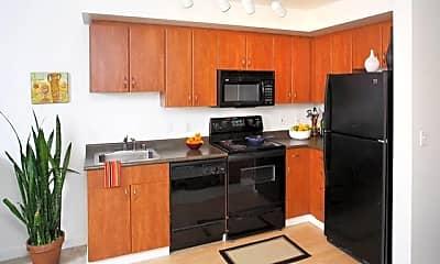 Kitchen, AVA Belltown, 0