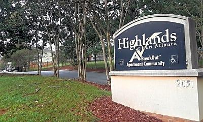 Highlands of East Atlanta, 1
