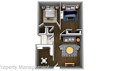 Bedroom, 3712 SE 14th St, 2