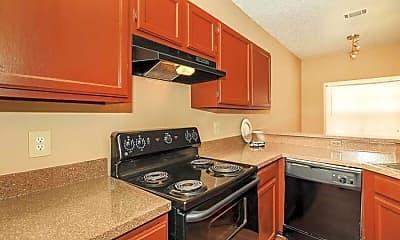 Kitchen, Audubon Park, 1