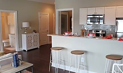 Kitchen, The Residence at The Historic Alcoa Building, 1