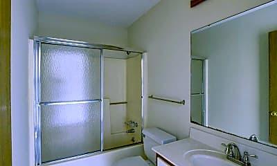 Bathroom, Hensley Square Apartments, 2