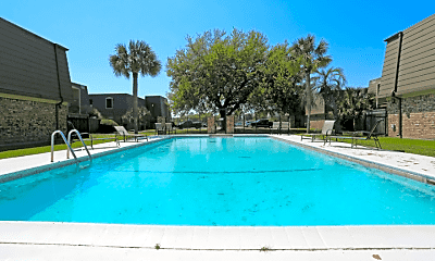 Pool, Normandy Apartments, 1