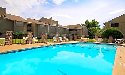 Pool, Landry Apartments, 0