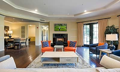 Living Room, Pinnacle at MacArthur Place, 0