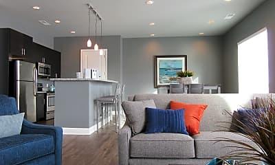 Living Room, Canal Flats, 0