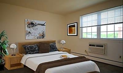 Bedroom, Bradfield Court Apartments, 2