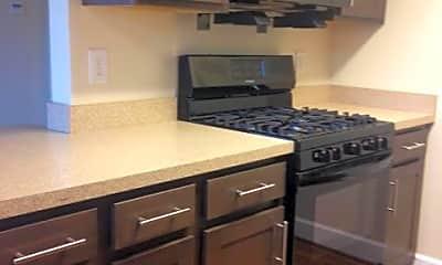 Kitchen, Clarendon Court Apartments, 1