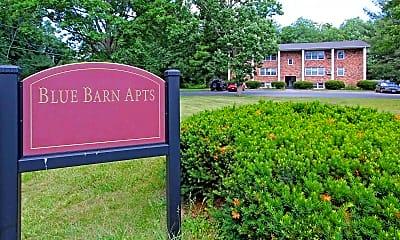 Community Signage, Blue Barns Apartments, 2