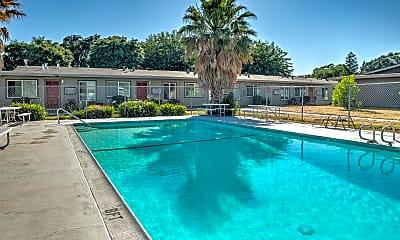 Pool, Alamo Garden Apartments, 2
