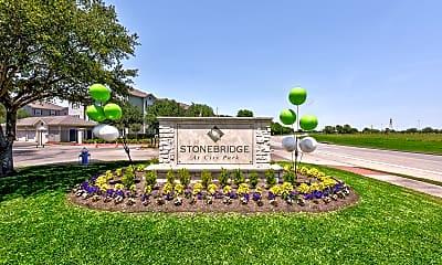 Community Signage, Stonebridge At City Park, 2