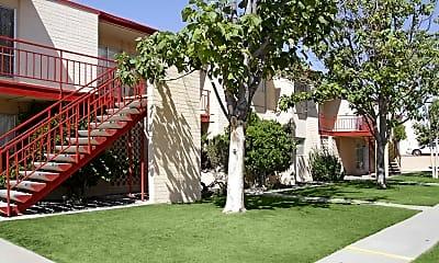 Building, Colony Garden Apartments, 1