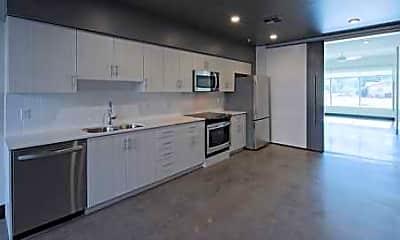 Kitchen, Residences on Farmer, 2