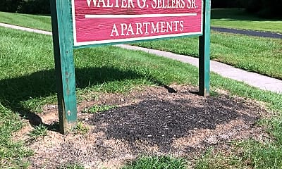 Walter G Sellers Senior Apartments, 1