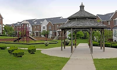 Playground, Brownstones, 2