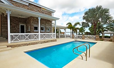 Pool, Little Torch Cottages, 0