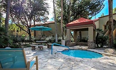 Pool, Laguna Palms Condominiums, 2