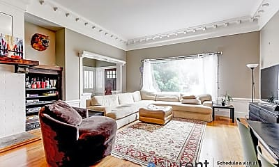 Living Room, 924 Clayton Street, 1