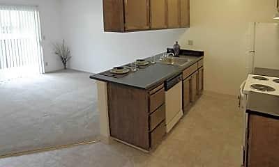 Kitchen, The Elms, 1