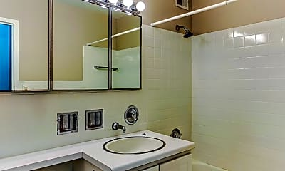 Bathroom, Maple Grove Apartments, 2