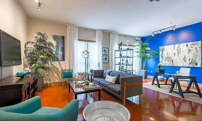 Living Room, 3105 San Jacinto, 0