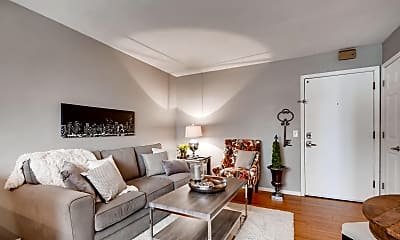 Living Room, NE Flats, 1