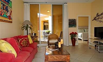 Living Room, 410 Bayfront Pl 2509, 1