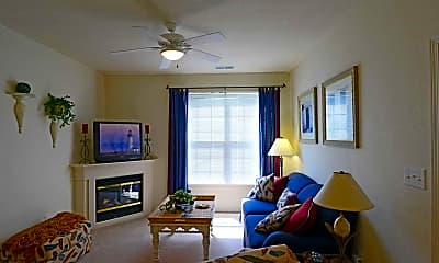 Living Room, Ashley Place Apartments, 1