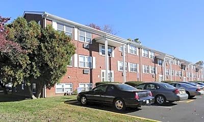 Building, Bellevue Court Apartments, 1