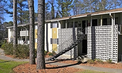Building, Pine Hill Apartments, 0
