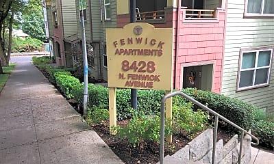 Fenwick Apartments, 1