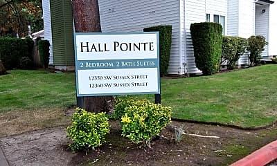 Hall Pointe, 1