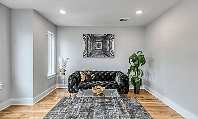 Living Room, 2812 Cecil B. Moore Ave, 0