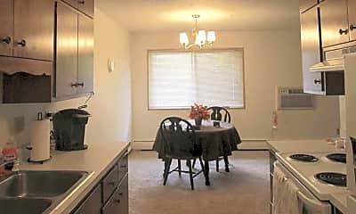 Kitchen, Hawn Apartments, 0