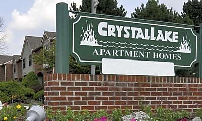 Building, Crystal Lake, 2