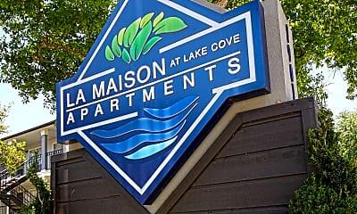 Community Signage, La Maison at Lake Cove, 2