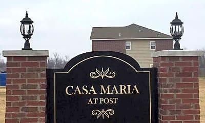 Community Signage, Casa Maria at Post, 0