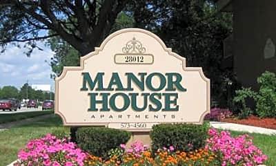 Community Signage, Manor House, 0