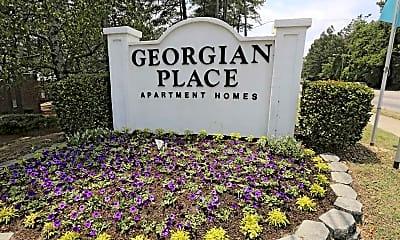 Community Signage, Georgian Place, 2