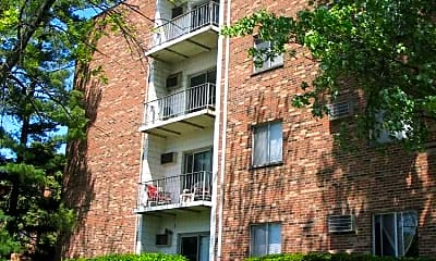Building, Twin Pines Apartments, 2