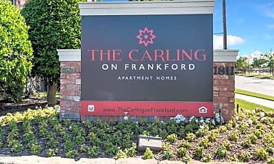 Community Signage, The Carling on Frankford, 2