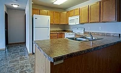 Kitchen, Roosevelt East Apartments, 1