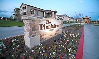 Community Signage, The Plantation Apartments, 1