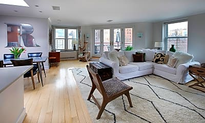 Living Room, 110 W 90th St, 0
