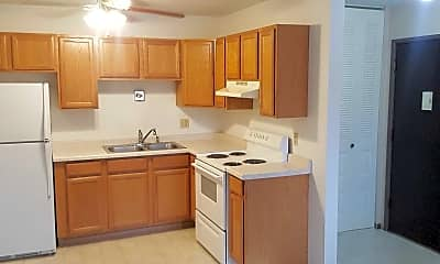 Kitchen, 909 Apartments, 2