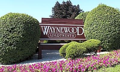 Landscaping, Waynewood Apartments, 2